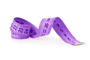 measuring tape for a bra